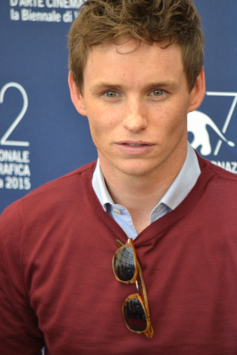 Venezia 2015: un primo piano di Eddie Redmayne al Photocall di The Danish Girl