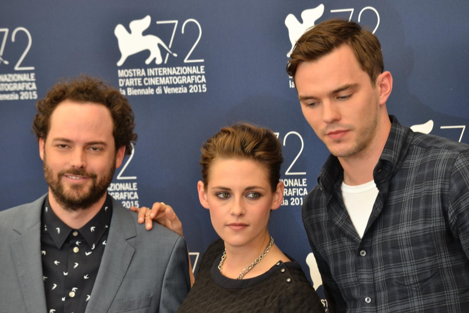 Venezia 2015: Drake Doremus, Kristen Stewart e Nicholas Hoult al photocall di Equals