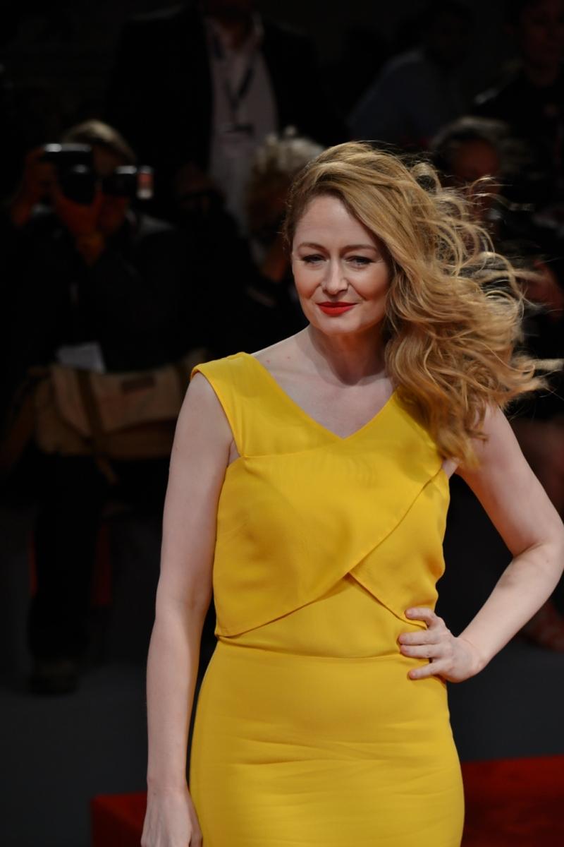 Venezia 2015: Miranda Otto durante il red carpet di Equals