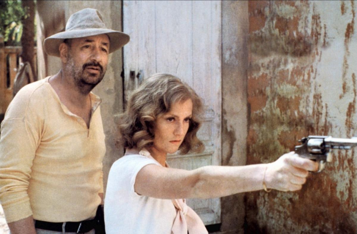 Colpo di spugna (Philippe Noiret e Isabelle Huppert)