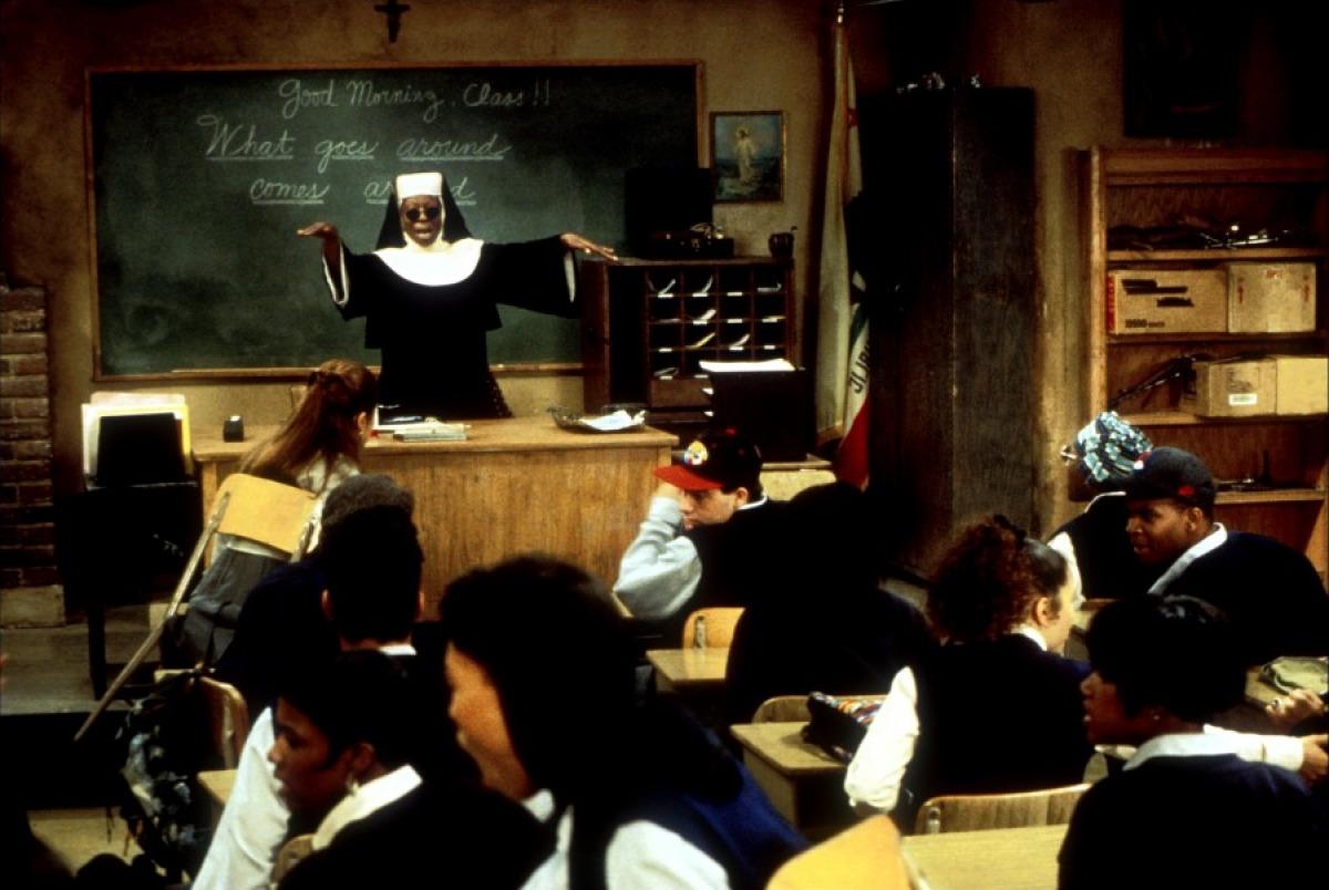 Whoopi Goldberg in Sister Act 2