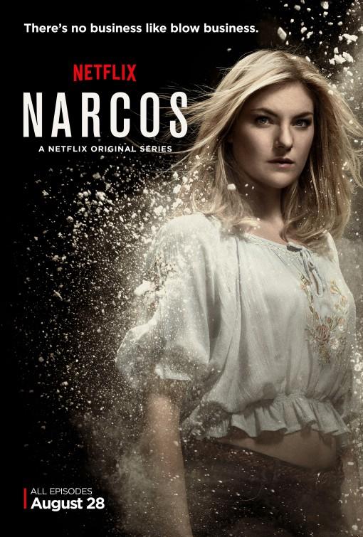 Narcos: un poster promozionale per la serie