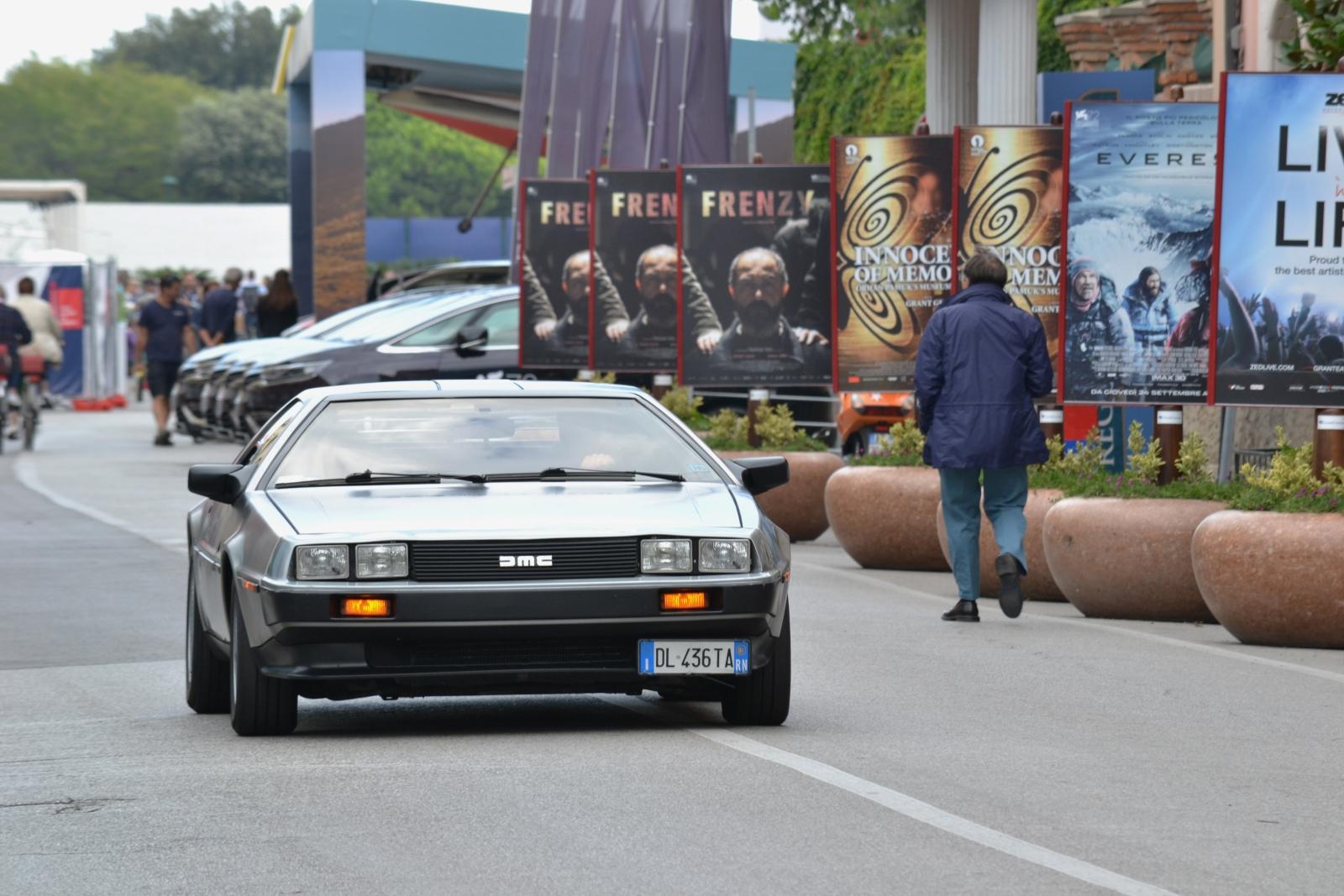Ritorno al Futuro a Venezia 72 - la DeLorean