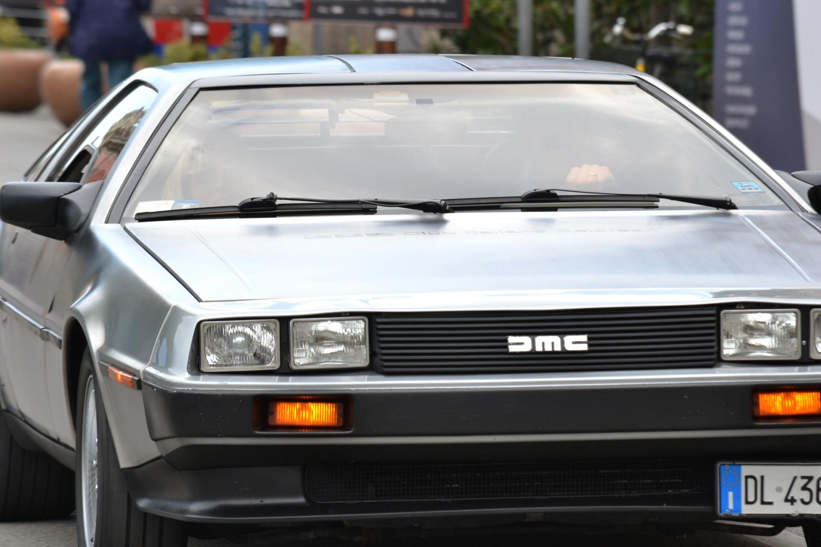 Ritorno al Futuro a Venezia 2015 - la DeLorean al Lido
