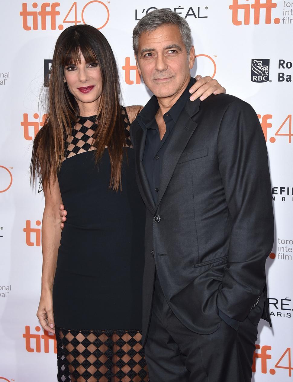 Our Brand is Crisis: Sandra Bullo e George Clooney al Toronto Film Festival