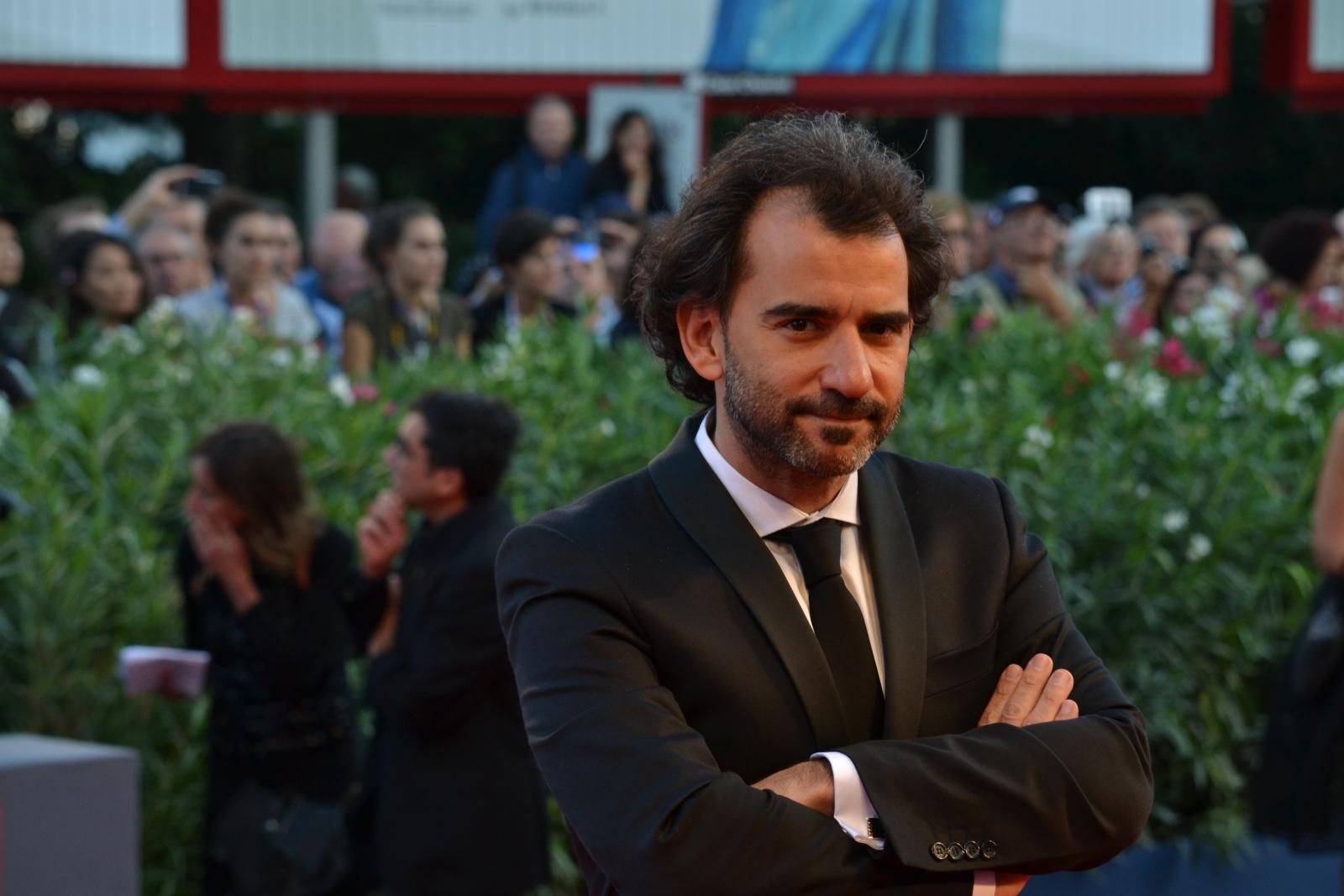Venezia 2015: Pablo Trapero sul red carpet della cerimonia di premiazione