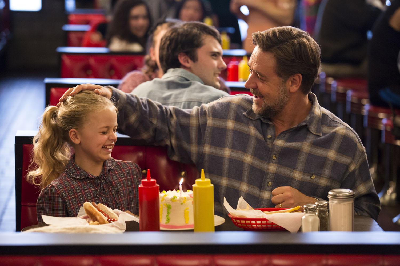 Padri e figlie: Kylie Rogers e Russell Crowe nel film di Muccino