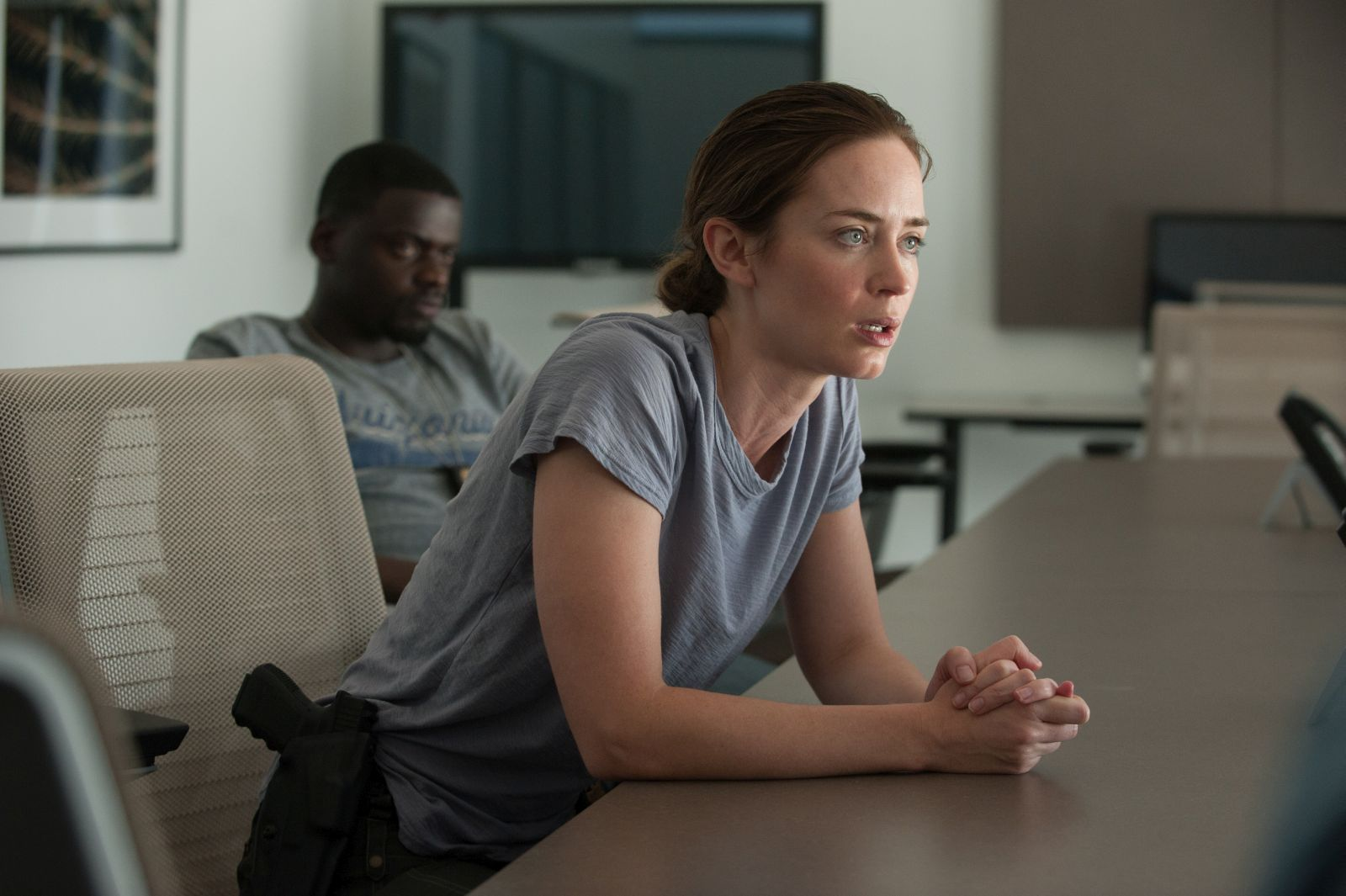 Sicario: Emily Blunt in una scena del film diretto da Denis Villeneuve
