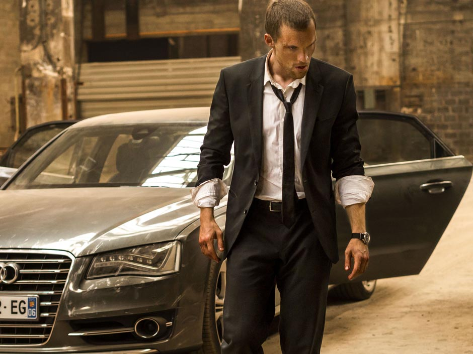 The Transporter Legacy: Ed Skrein in una scena del film diretto da Camille Delamarre