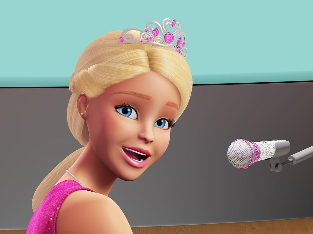 Barbie Principessa Rock: la Principessa Courtney in un'immagine del film d'animazione