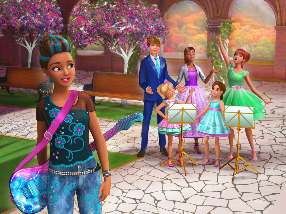 Barbie Principessa Rock: Erika Juno in un'immagine del film animato