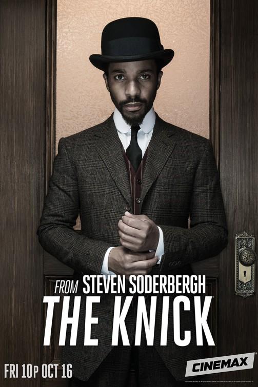 The Knick: Andre Holland in un manifesto per la seconda stagione
