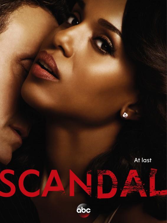 Scandal: la locandina della quinta stagione