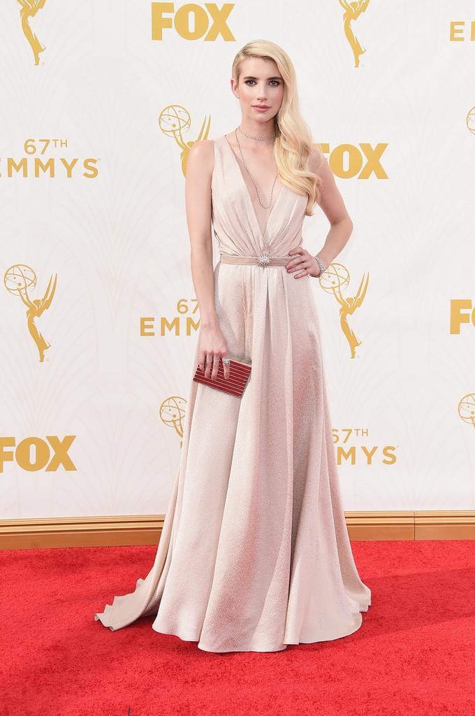Emma Roberts agli Emmy 2015