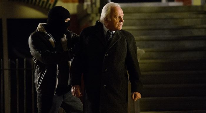 Il caso Freddy Heineken: Anthony Hopkins in una scena del film
