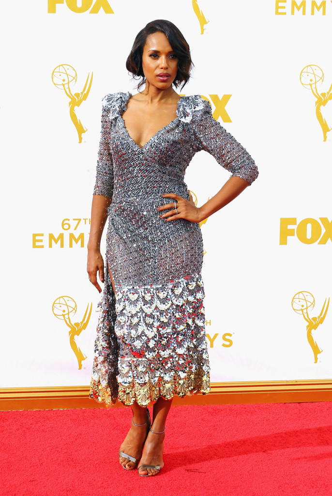 Kerry Washington agli Emmy 2015