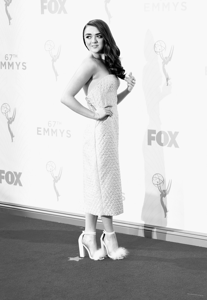 Maisie Williams agli Emmy 2015