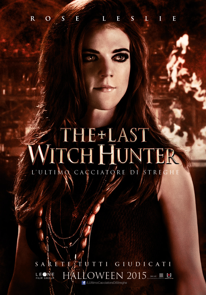 The Last Witch Hunter, il character poster di Rose Leslie in esclusiva