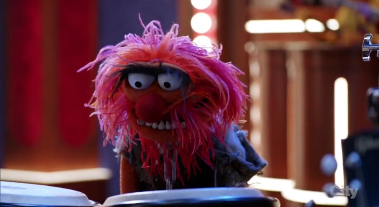 The Muppets: una scena del pilot della serie