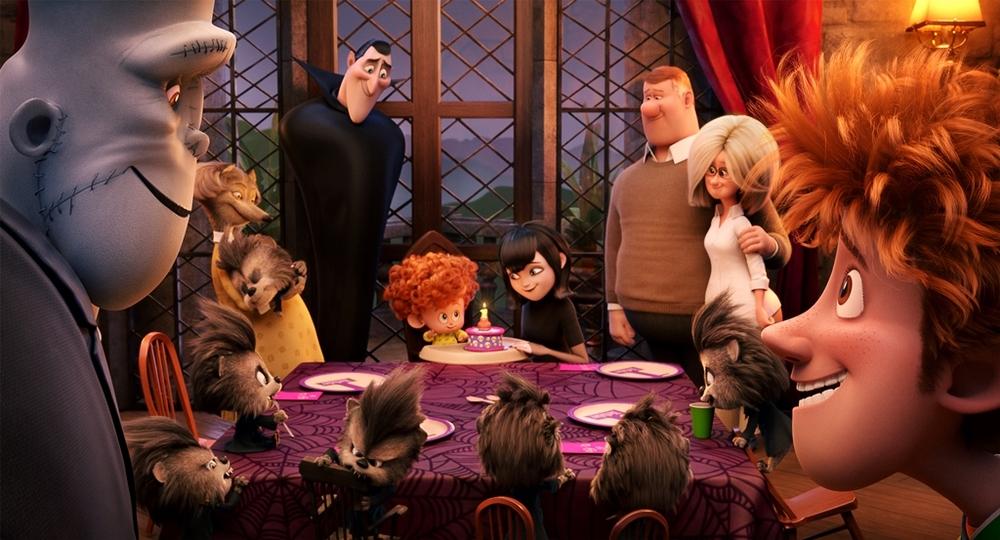 Hotel Transylvania 2: un'immagine del film animato