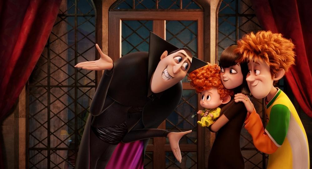 Hotel Transylvania 2: una scena del film d'animazione
