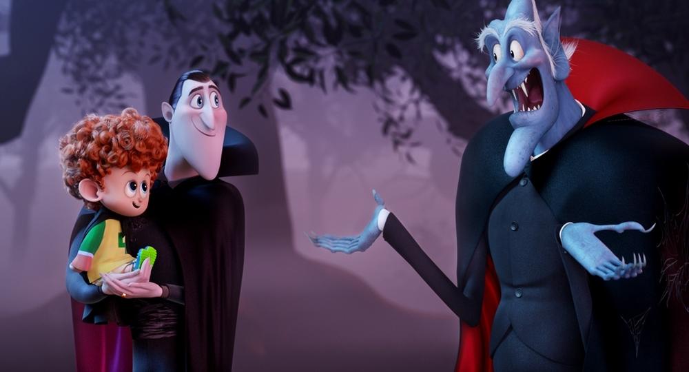 Hotel Transylvania 2: un momento del film d'animazione