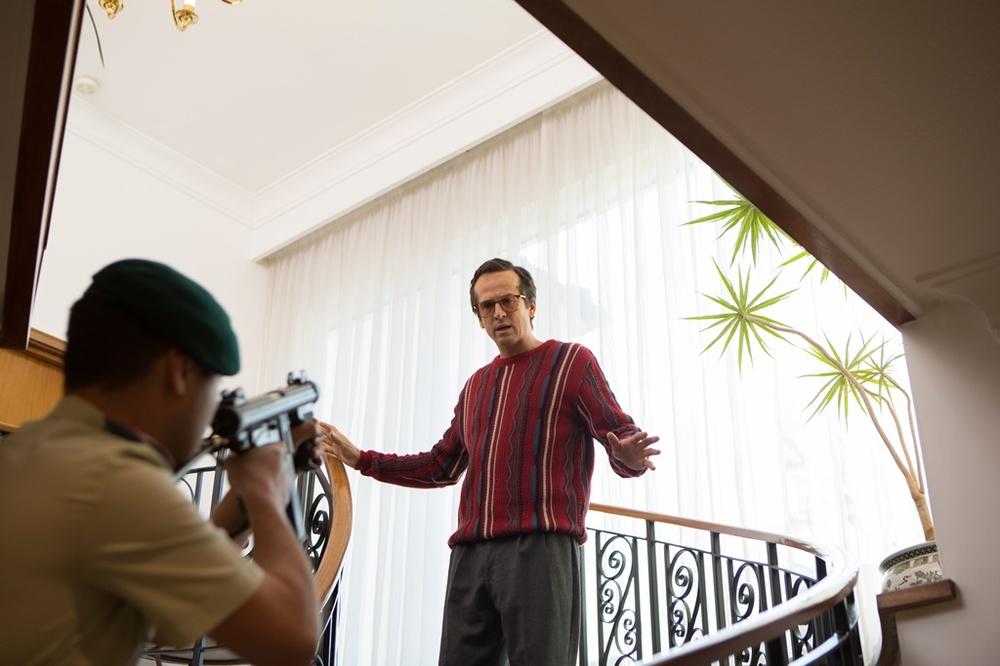 The Program: Guillaume Canet in una scena del film