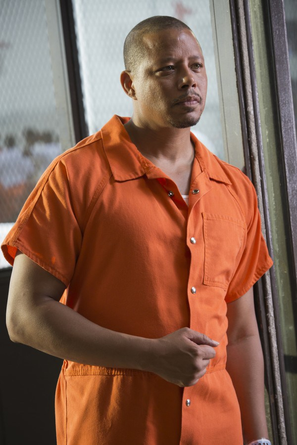 Empire: Terrence Howard, interprete di Lucious, nell'episodio The Devils Are Here
