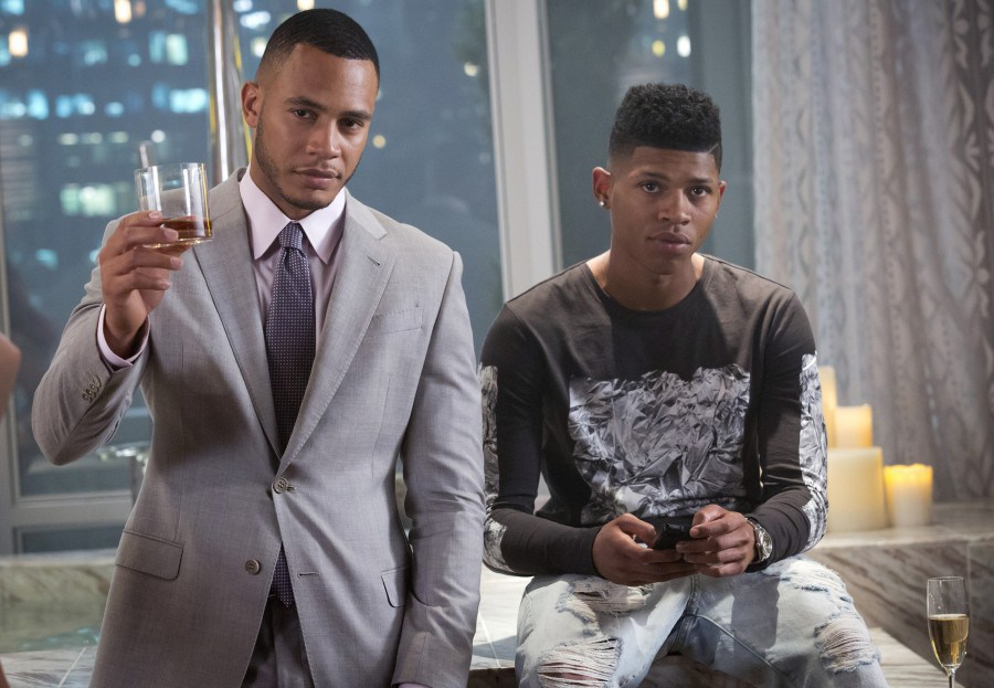Empire: Trai Byers e Bryshere Y. Gray in The Devils Are Here