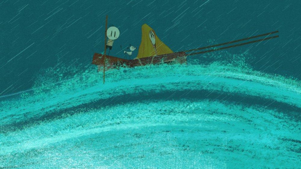 Il bambino che scoprì il mondo: un'immagine tratta dal film animato