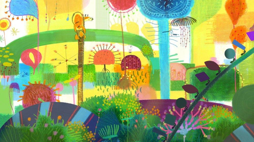 Il bambino che scoprì il mondo: una scena del film animato