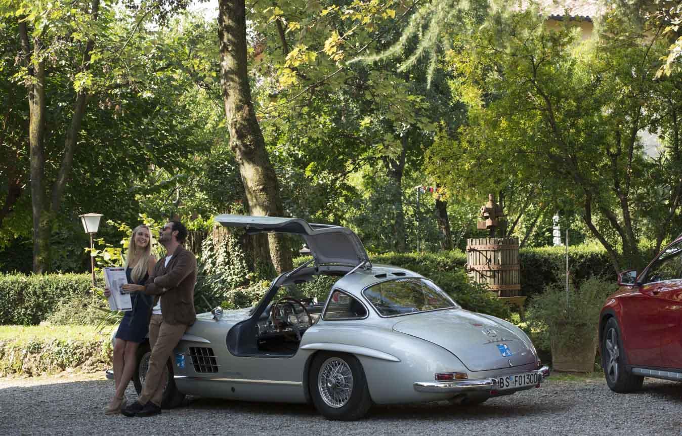 Rosso Mille Miglia: Martina Stella e Fabio Troiano in una scena del film