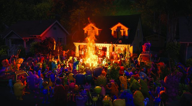 Party Central: una scena del corto Pixar