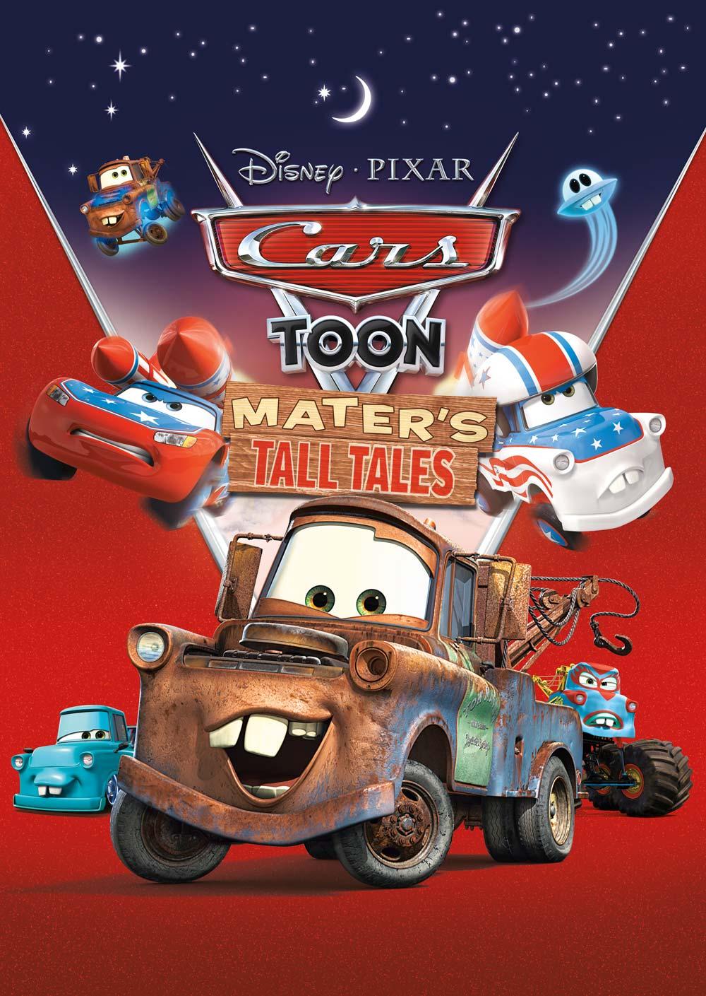 Cars Toon - Le incredibili storie di Carl Attrezzi, il poster della serie