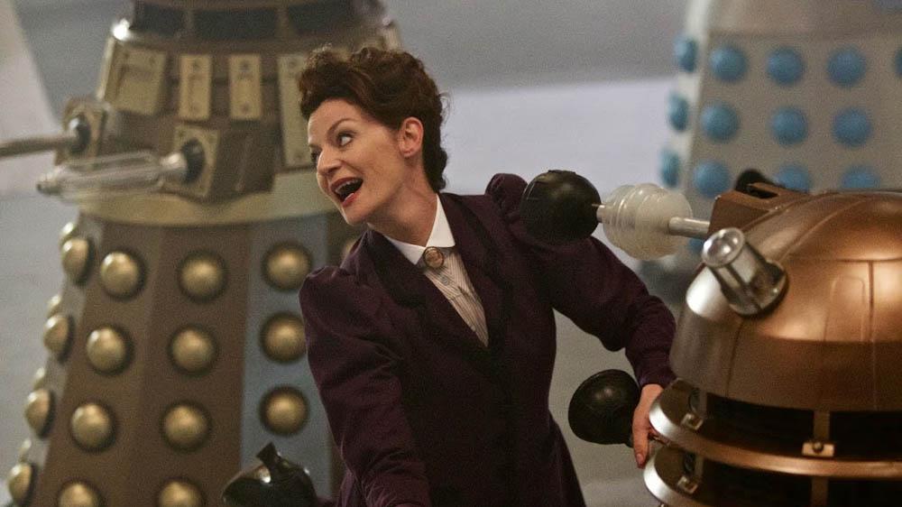 Doctor Who: Michelle Gomez in un'immagine dell'episodio The Witch's Familiar