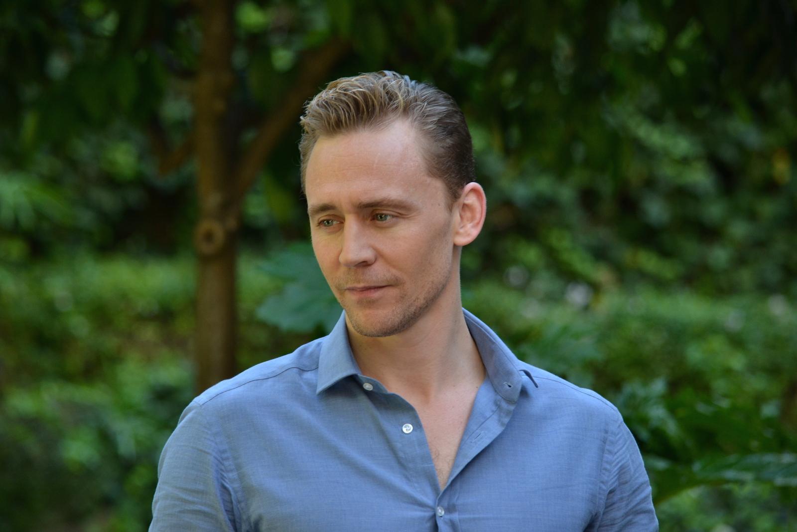 Tom Hiddleston al photocall di Crimson Peak