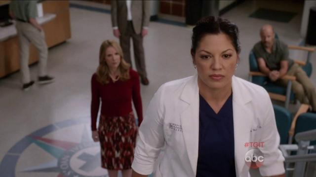 Grey's Anatomy: l'attrice Sara Ramirez nell'episodio Sledgehammer