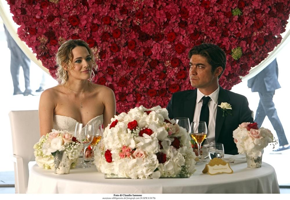Io che amo solo te: Riccardo Scamarcio e Laura Chiatti in un'immagine del nuovo film di Marco Ponti