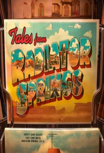Cars Toon - Racconti da Radiator Springs, il poster della serie