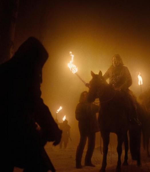 Revenant - Redivivo: una scena di caccia del film diretto da Iñárritu