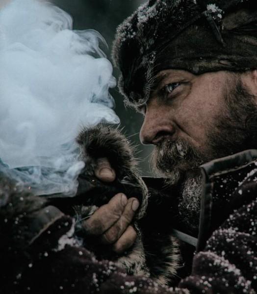 Revenant - Redivivo: l'attore Tom Hardy in una foto di scena