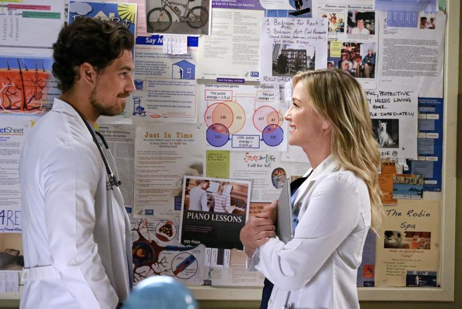 Grey's Anatomy: Joe Dinicol e Jessica Capshaw in Sledgehammer
