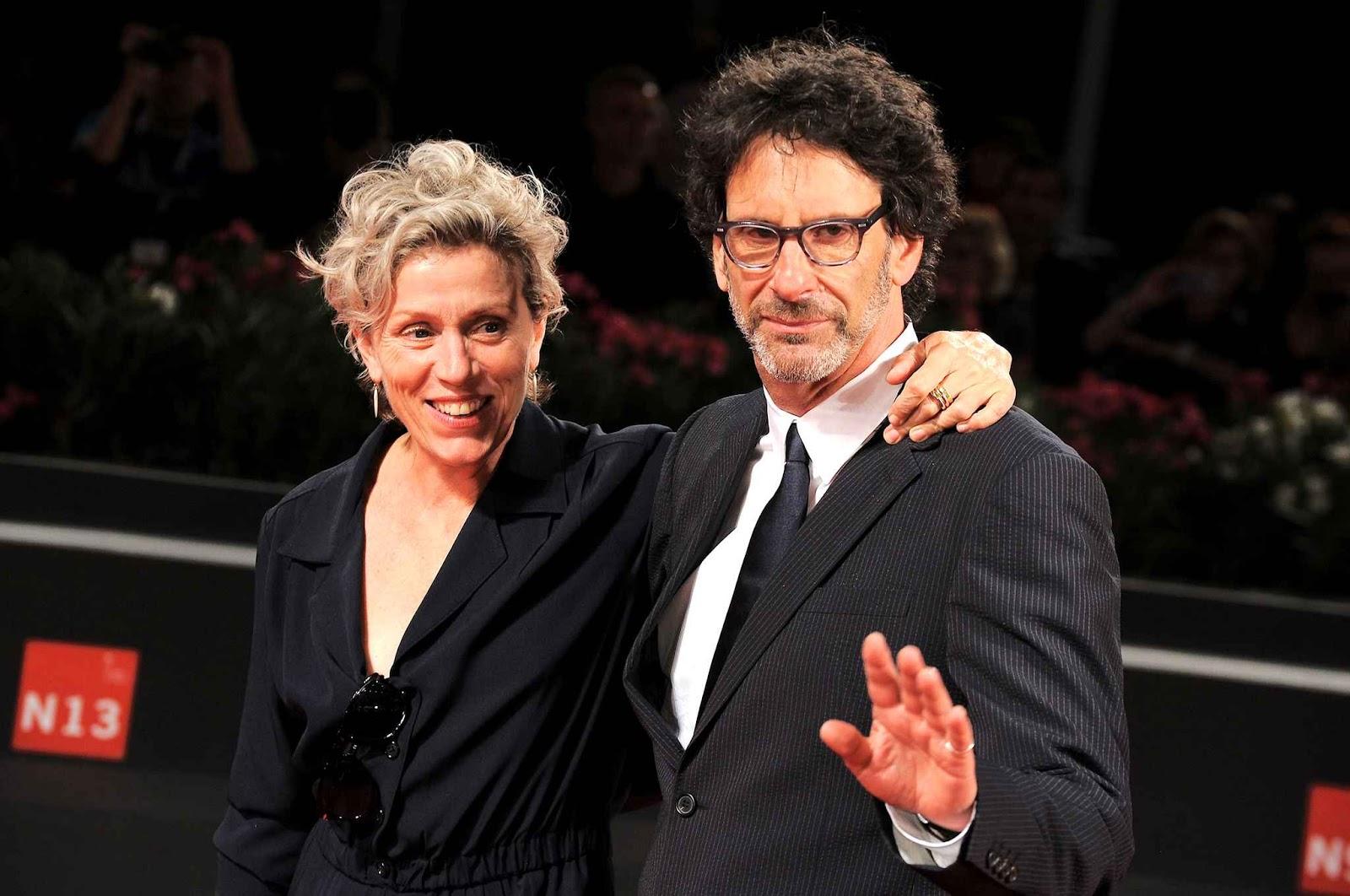 Frances McDormand e Joel Coen