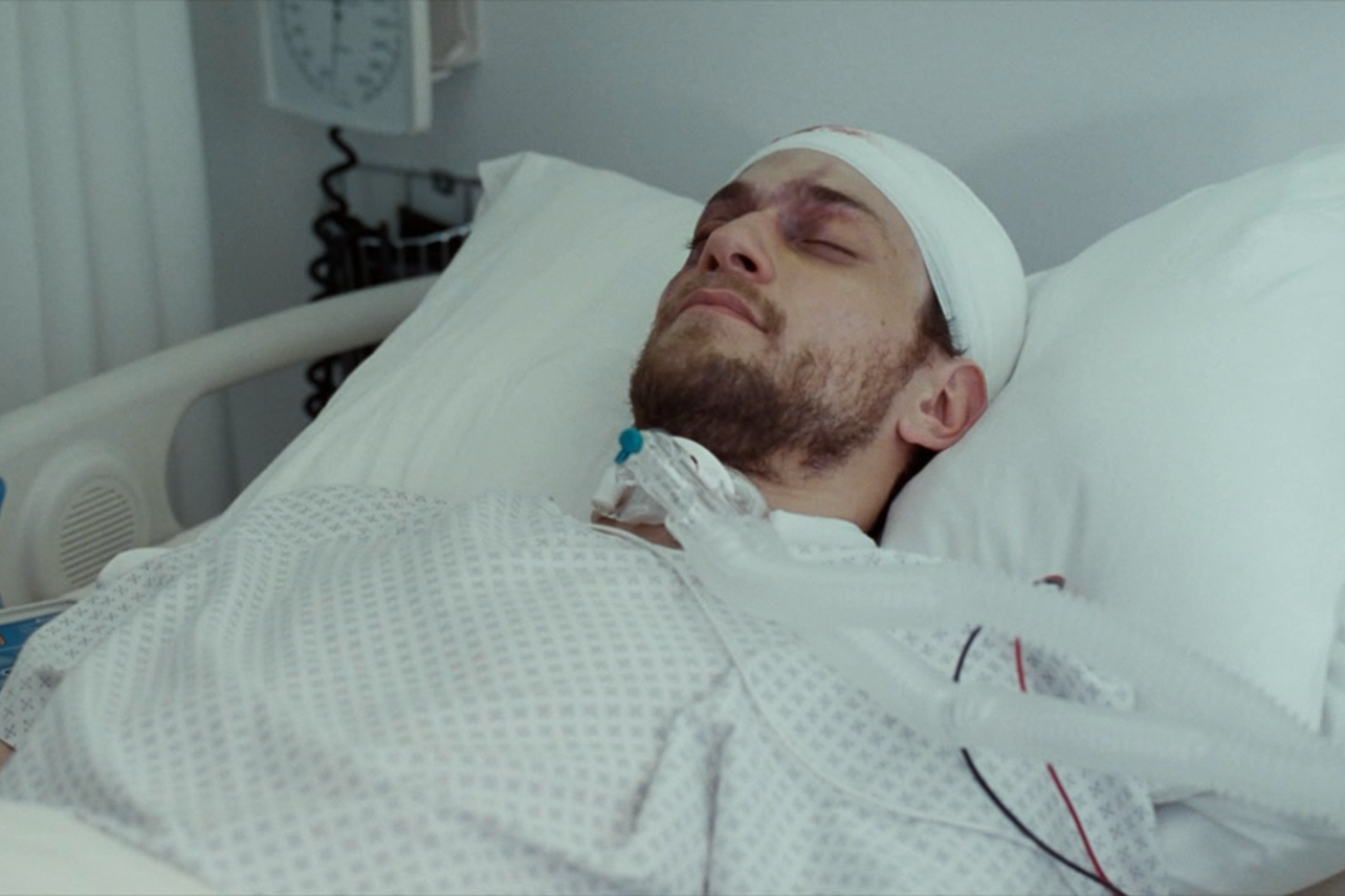 Hand of God: l'attore Johnny Ferro è PJ Harris in un'immagine della serie