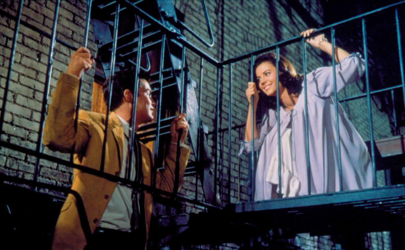 West Side Story: Natalie Wood e Richard Beymer