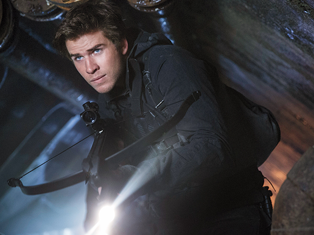 Hunger Games: Il Canto della Rivolta - Parte 2: Liam Hemsworth interpreta Gale