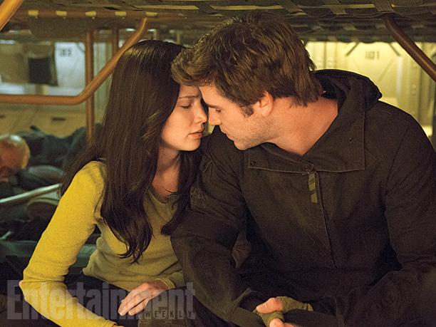 Hunger Games: Il Canto della Rivolta - Parte 2: Jennifer Lawrence e Liam Hemsworth sono Katniss e Gale