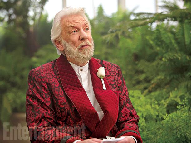 Hunger Games: Il Canto della Rivolta - Parte 2: Donald Sutherland interpreta il Presidente Snow