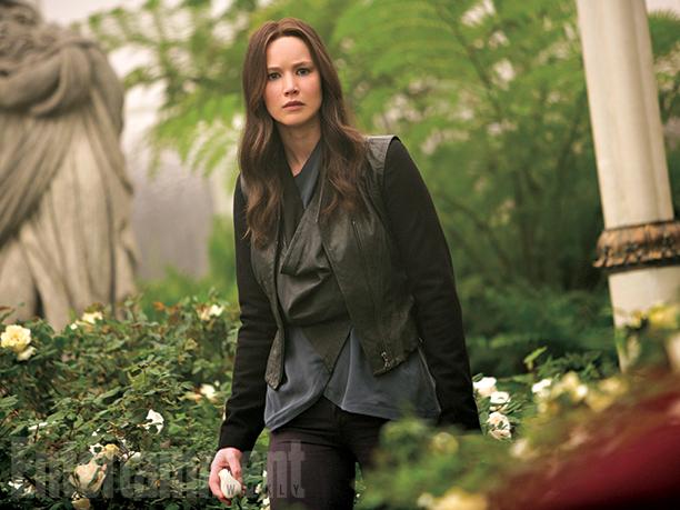 Hunger Games: Il Canto della Rivolta - Parte 2: Jennifer Lawrence interpreta Katniss Everdeen in un'immagine del film