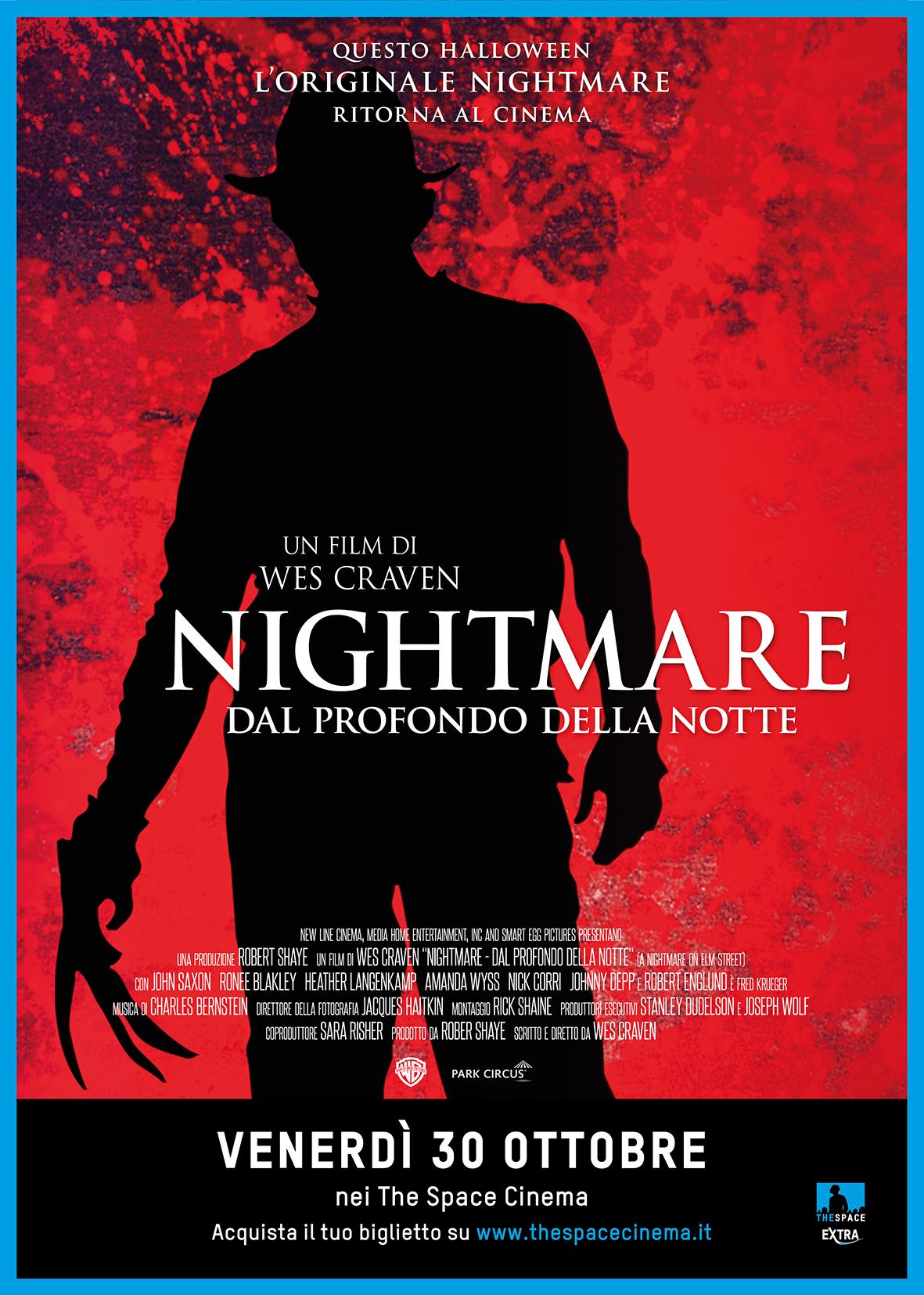 Poster del ritorno in sala di Nightmare, nel 2015